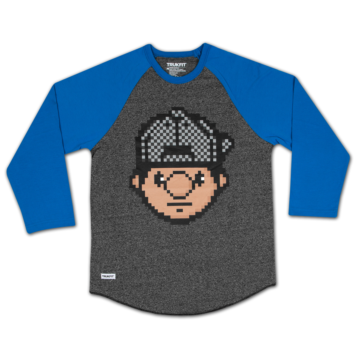 Trukfit Digital Tommy 3/4 Sleeve Raglan