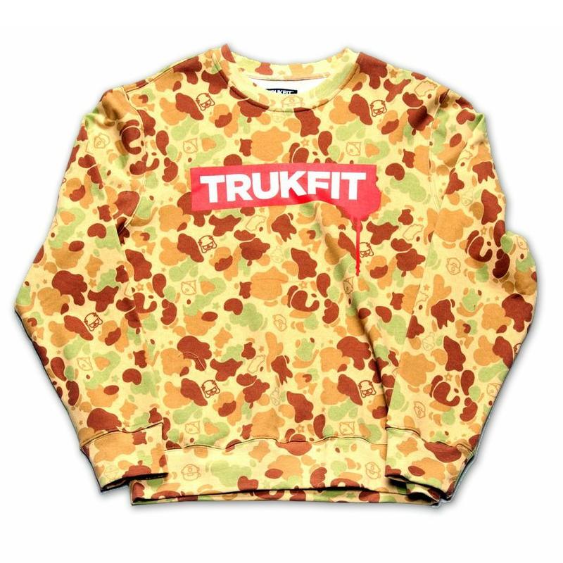 Trukfit Truk Drip Crewneck Sweatshirt