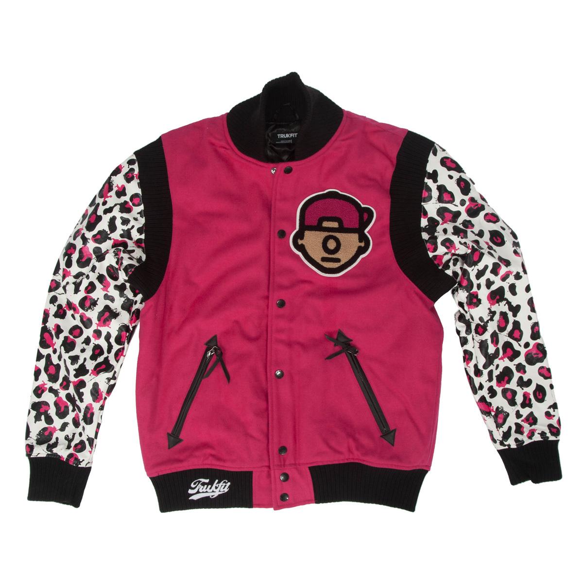 Trukfit Cheetah Varsity Jacket