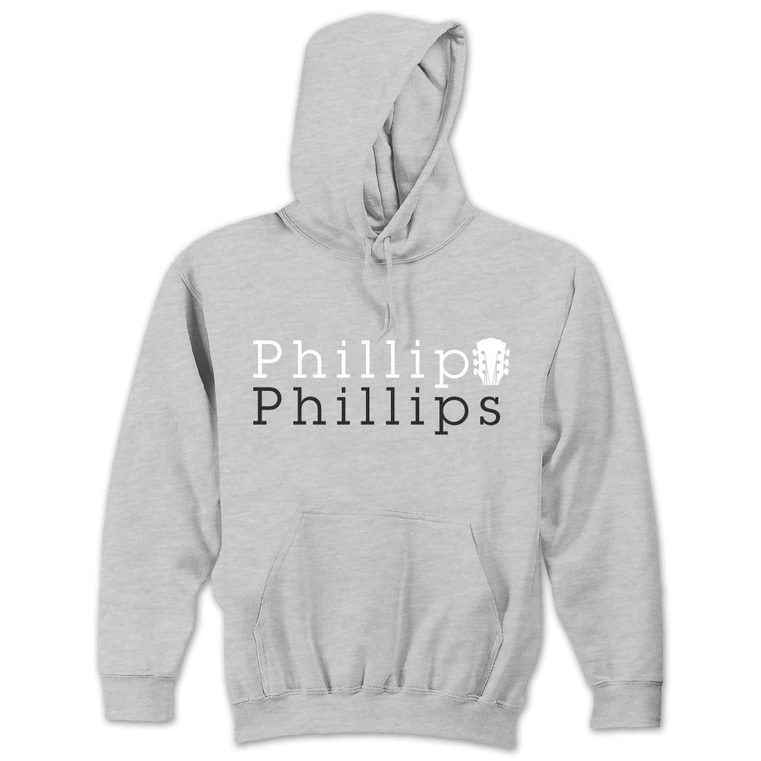 Phillip Phillips Stacked Logo Hoodie