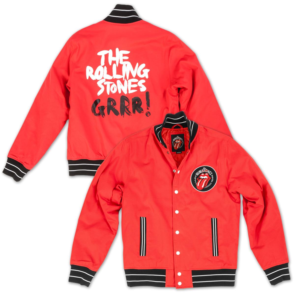 GRRR! Baseball Varsity Jacket
