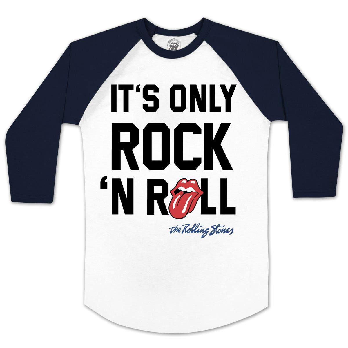 Rolling Stones It's Only Rock N Roll Raglan