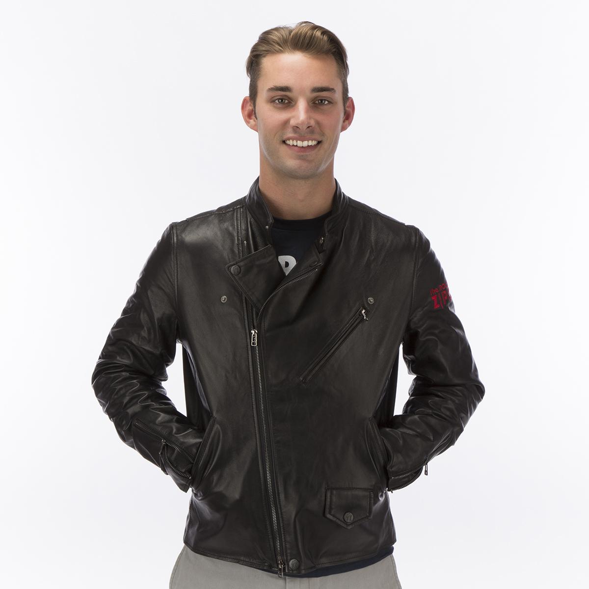 Rolling stones leather jacket