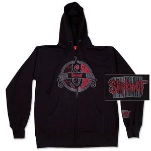 Slipknot Crest Full-Zip Hoodie
