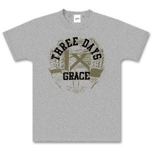 Three Days Grace Ash Grey Boxer T-Shirt