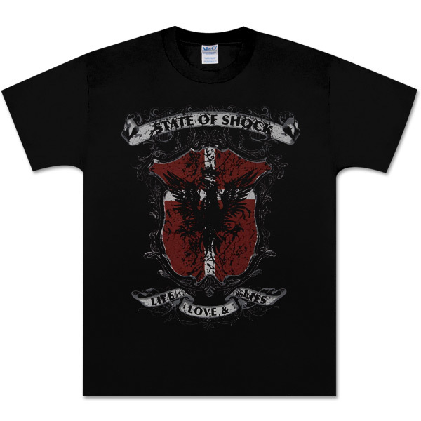 State of Shock Eagle Crest T-Shirt