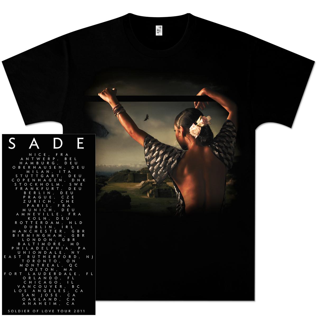 Sade Premonition 2011 Tour T-Shirt