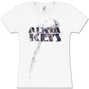 Alicia Keys  Faded Bird Juniors Tee