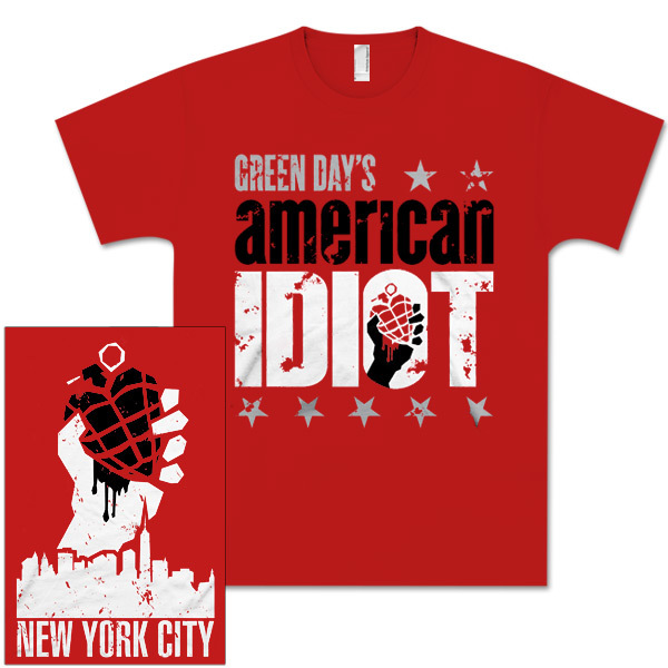 American Idiot the Musical Red Logo T-Shirt