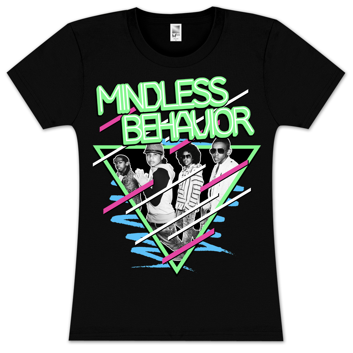 Mindless Behavior Scribble Girlie T-Shirt