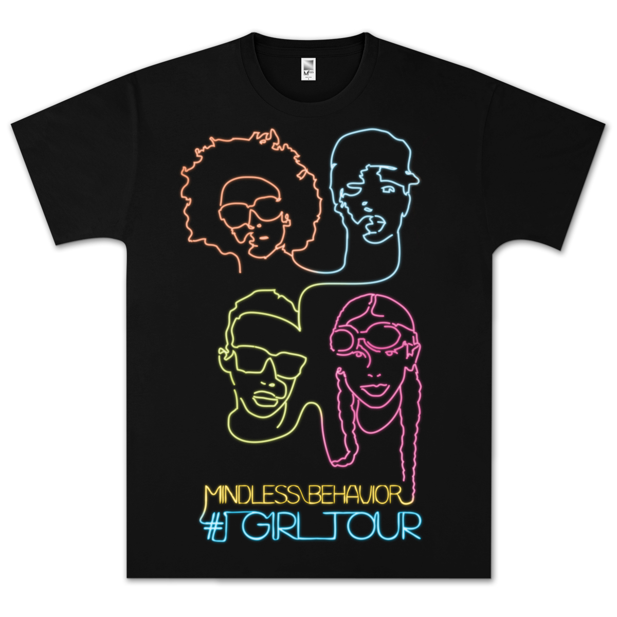 Mindless Behavior Neon Lights T-Shirt