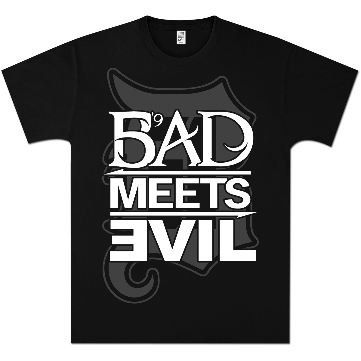 Bad Meets Evil Square Logo D T-Shirt