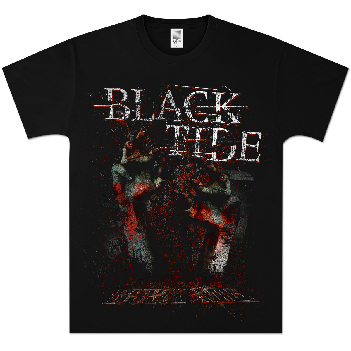 Black Tide Bury Me T-Shirt