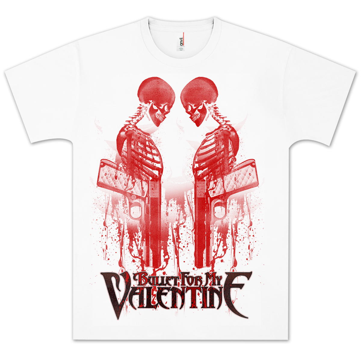 Bullet For My Valentine Revolver T-Shirt