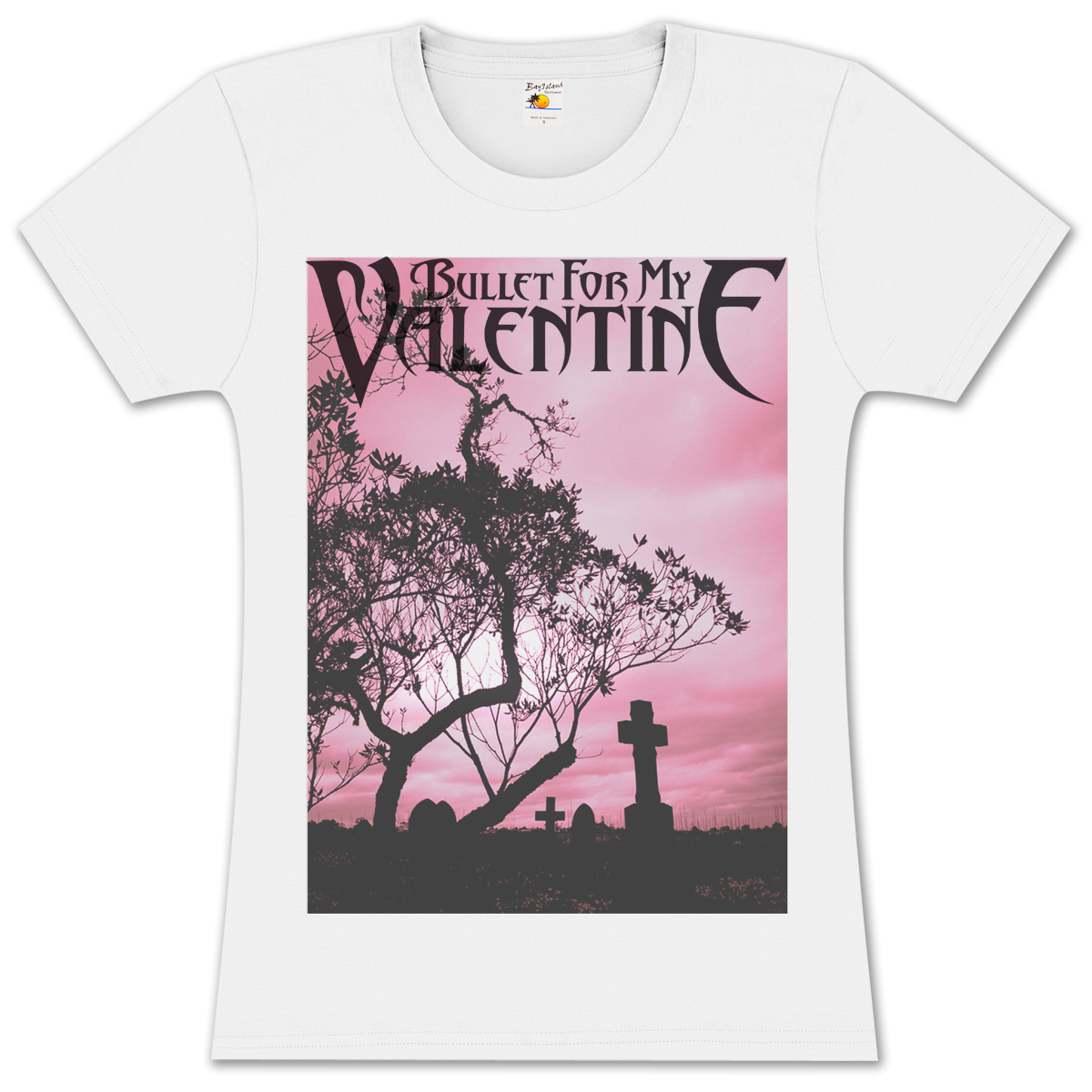 Bullet For My Valentine Silhouette Girlie T-Shirt