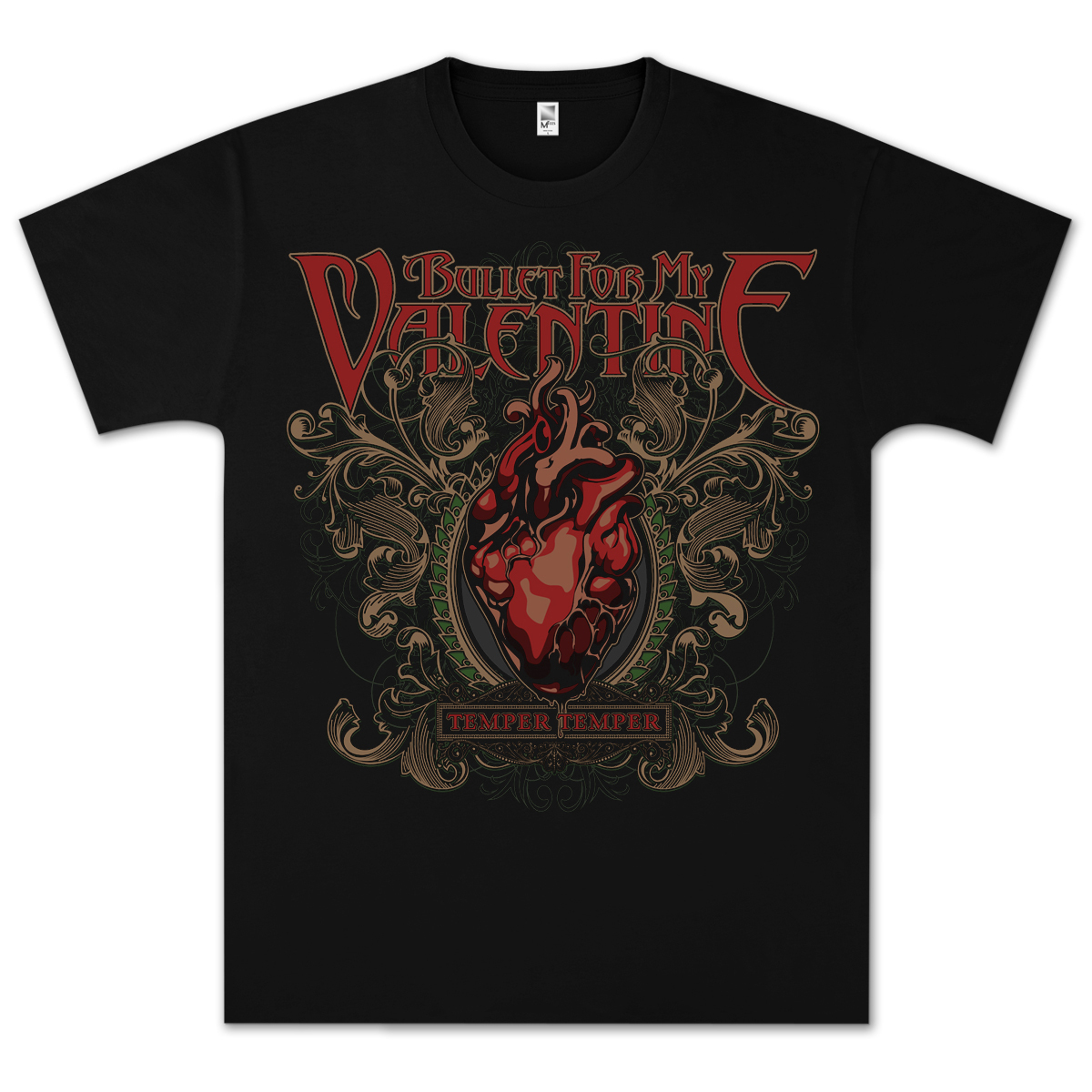 Bullet For My Valentine Temper Temper T-Shirt