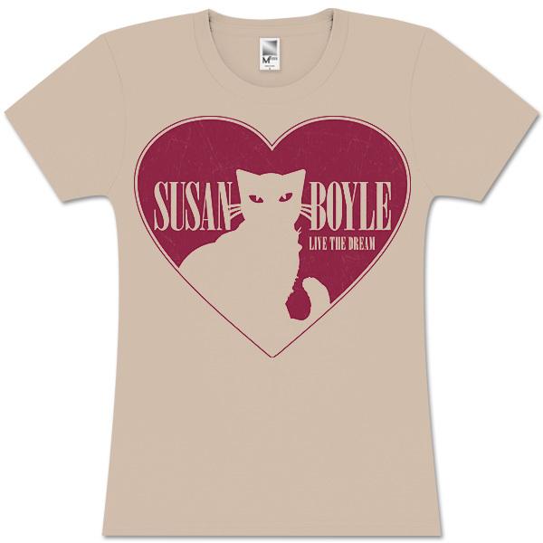 Susan Boyle Cat Heart Babydoll