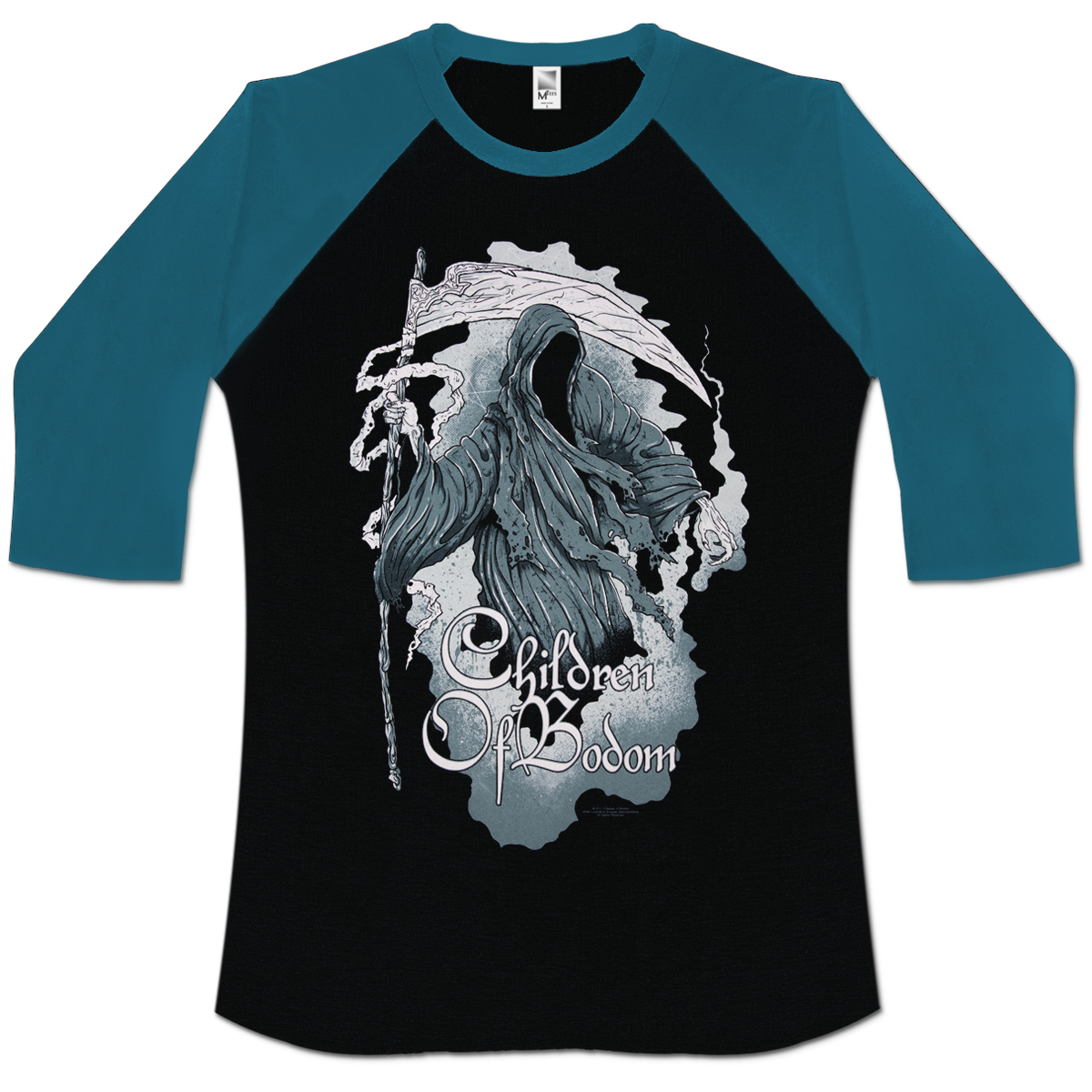 Children of Bodom Painted Reaper Raglan