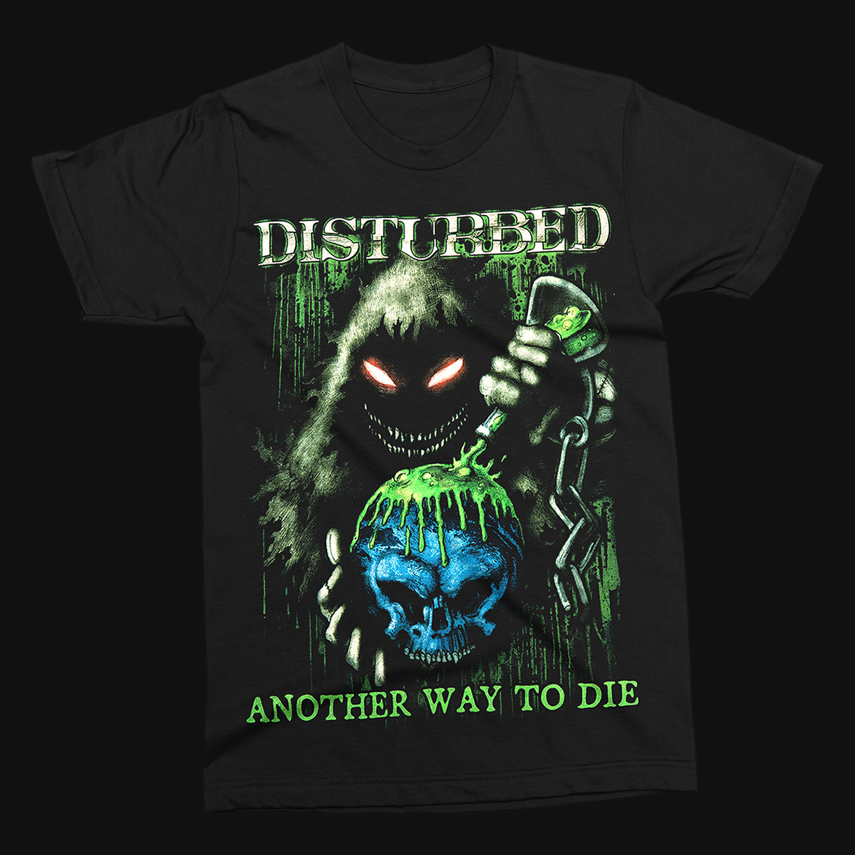 Disturbed Toxic Globe T-Shirt