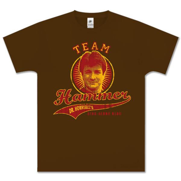 Dr. Horrible™ Team Hammer T-Shirt