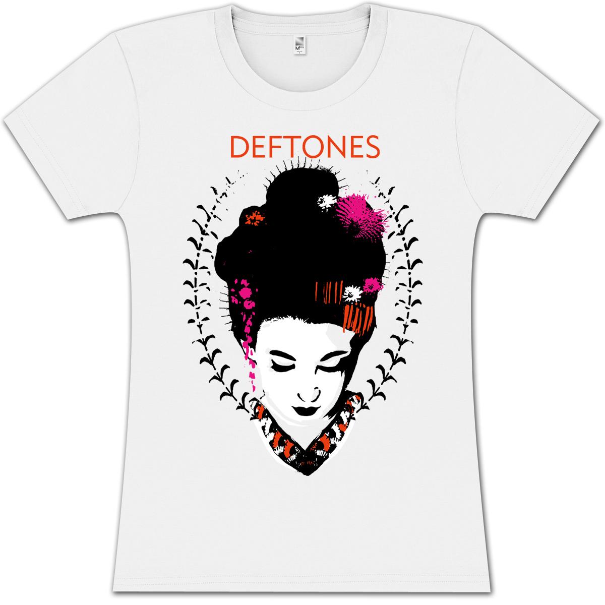 Deftones Geisha Girlie T-Shirt