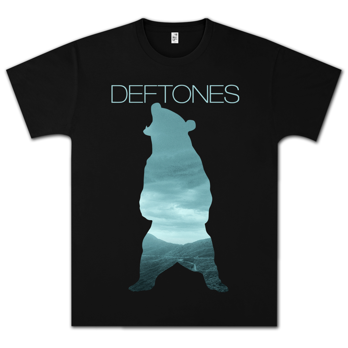 Deftones Teddy Black T-Shirt