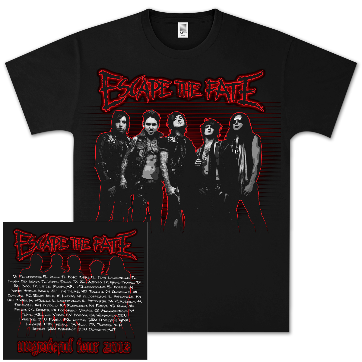 Escape the Fate Poster Eyes T-Shirt