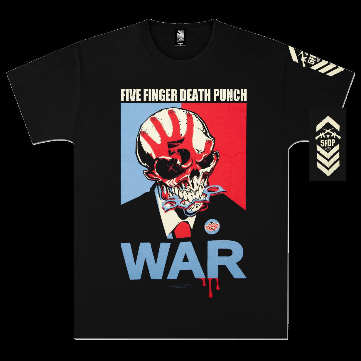 Five Finger Death Punch War T-Shirt