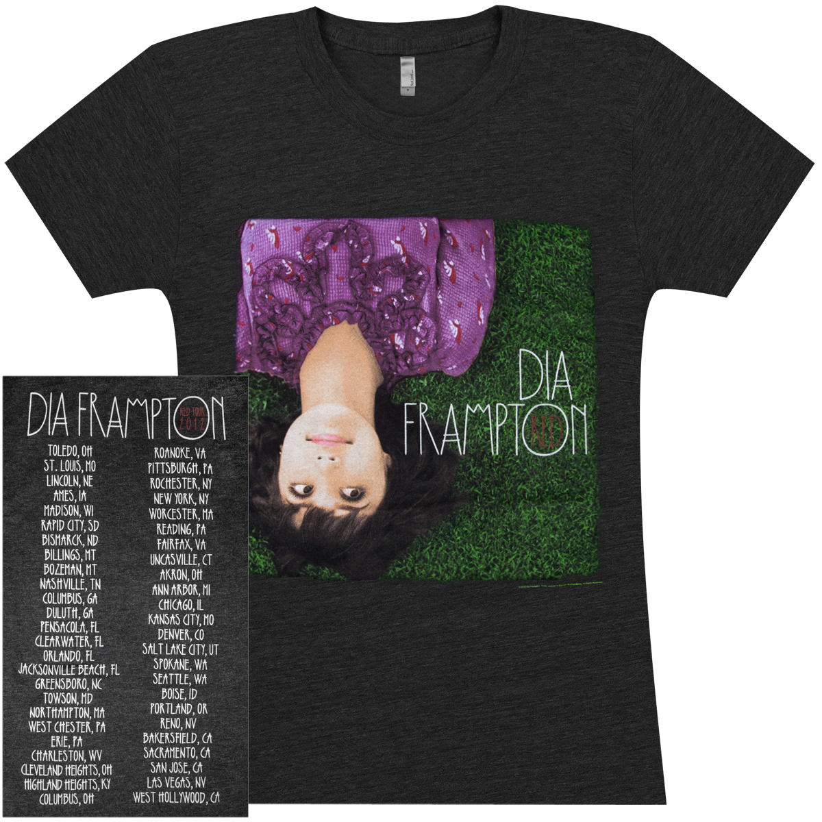 Dia Frampton Album Cover Girlie T-Shirt