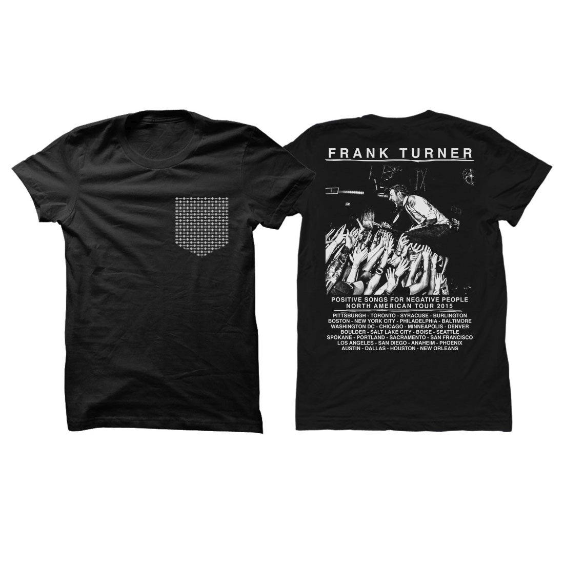 Frank Turner Pocket Tour T-Shirt