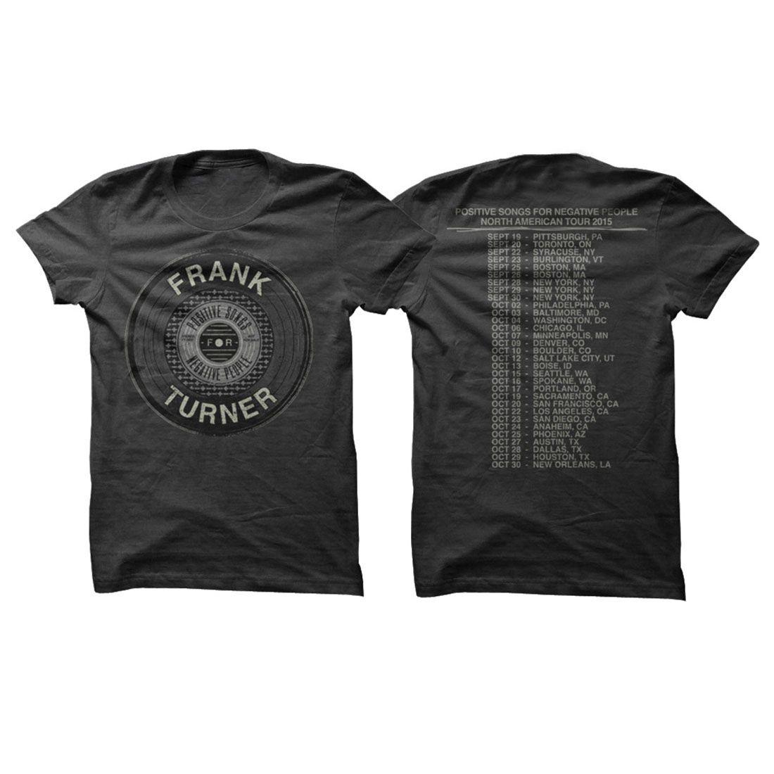 Frank Turner Vinyl Tour T-Shirt