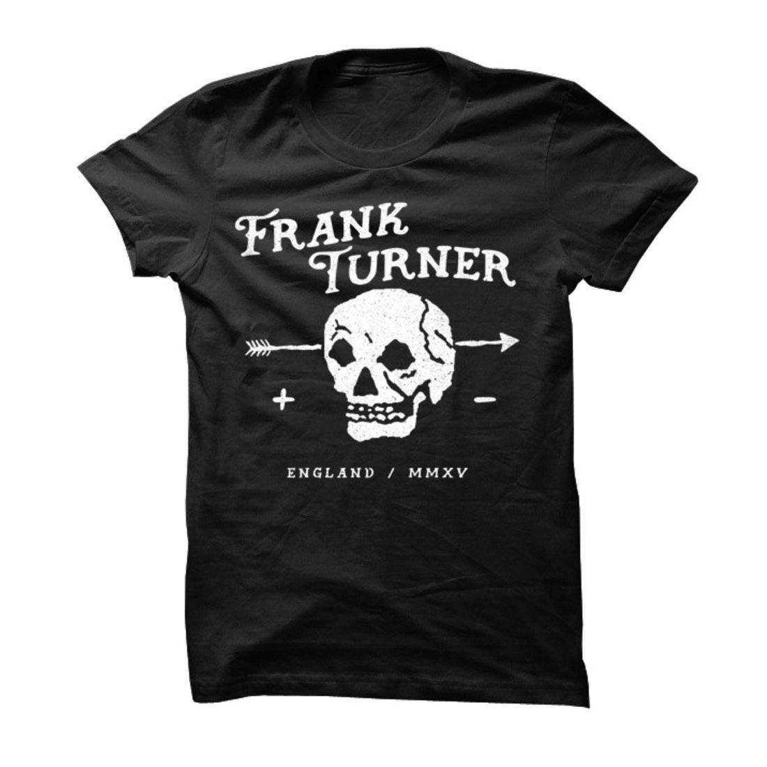 Frank Turner Skull T-Shirt