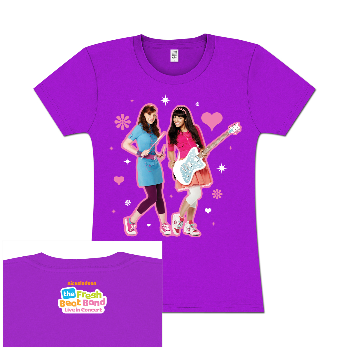 Fresh Beat Band Kiki and Marina Girls T-Shirt