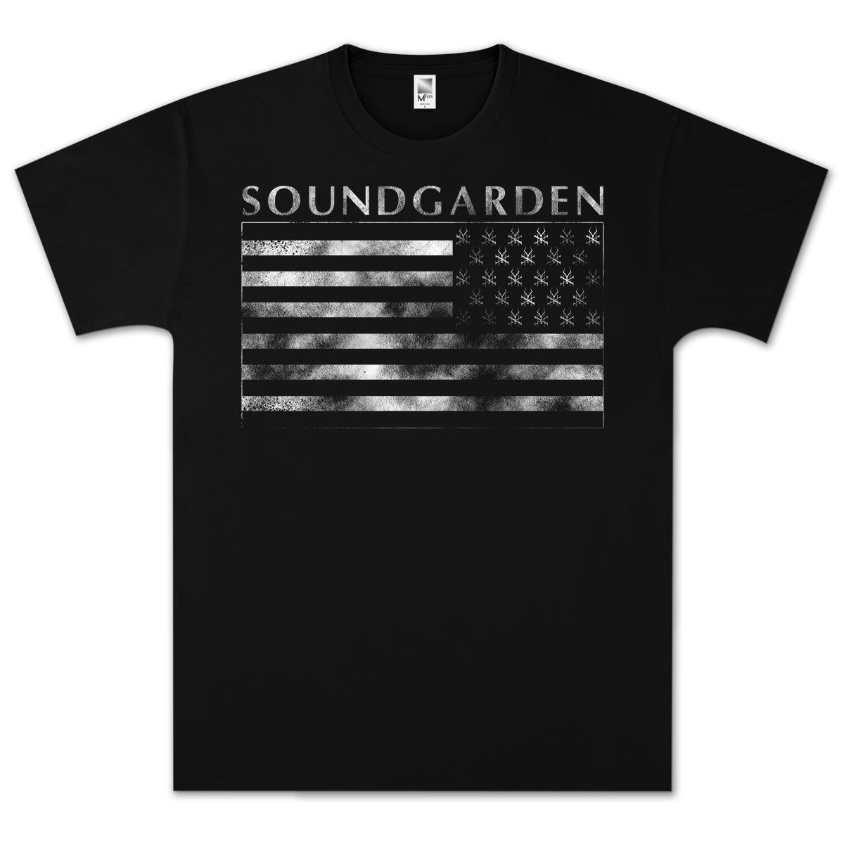 Soundgarden Symbols Flag T-Shirt
