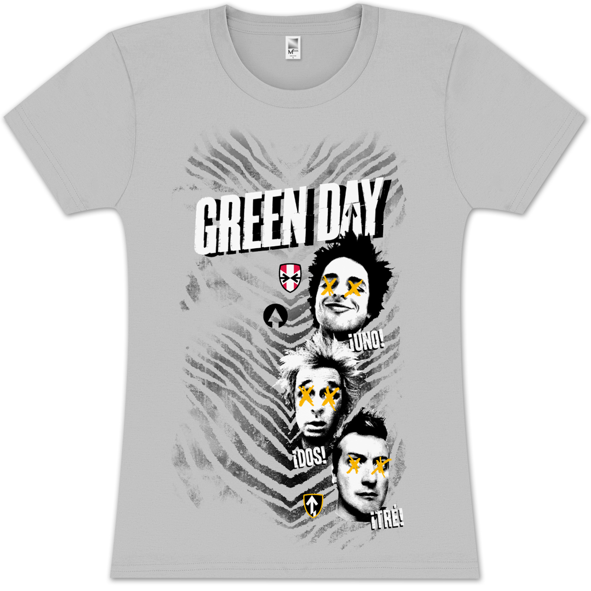 Green Day Jr Tiger T-Shirt