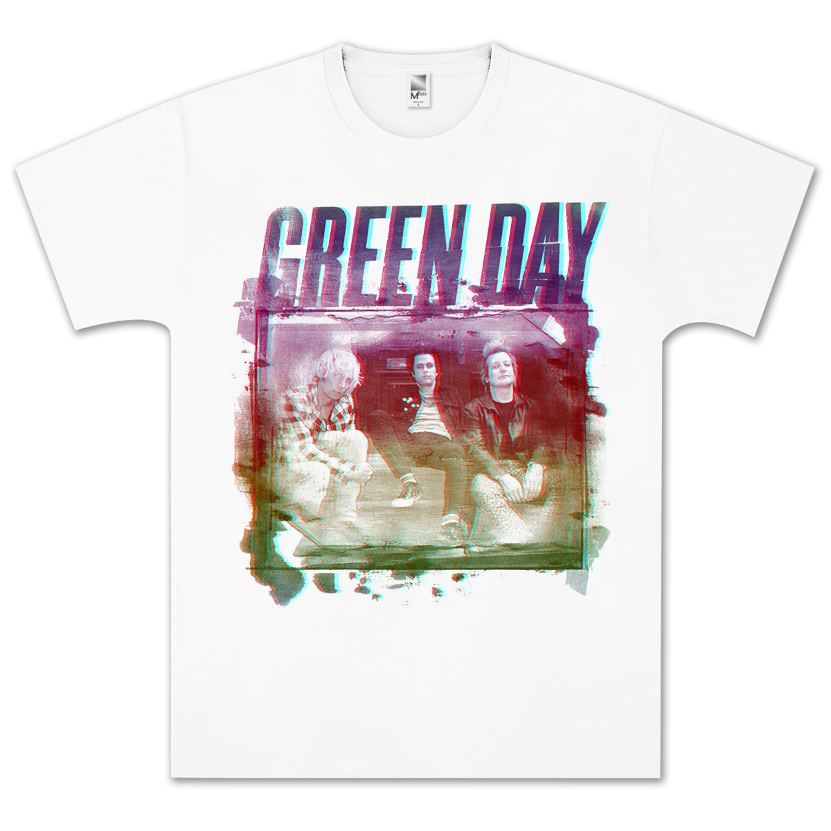 Green Day Old School T-Shirt