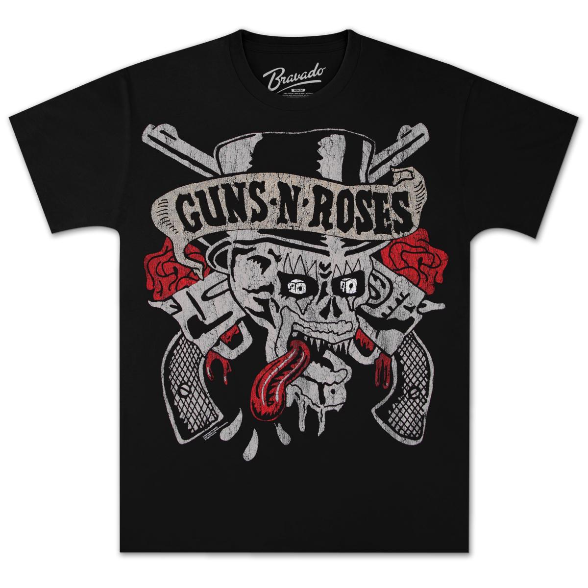 Guns N' Roses Tongue Skull T-Shirt