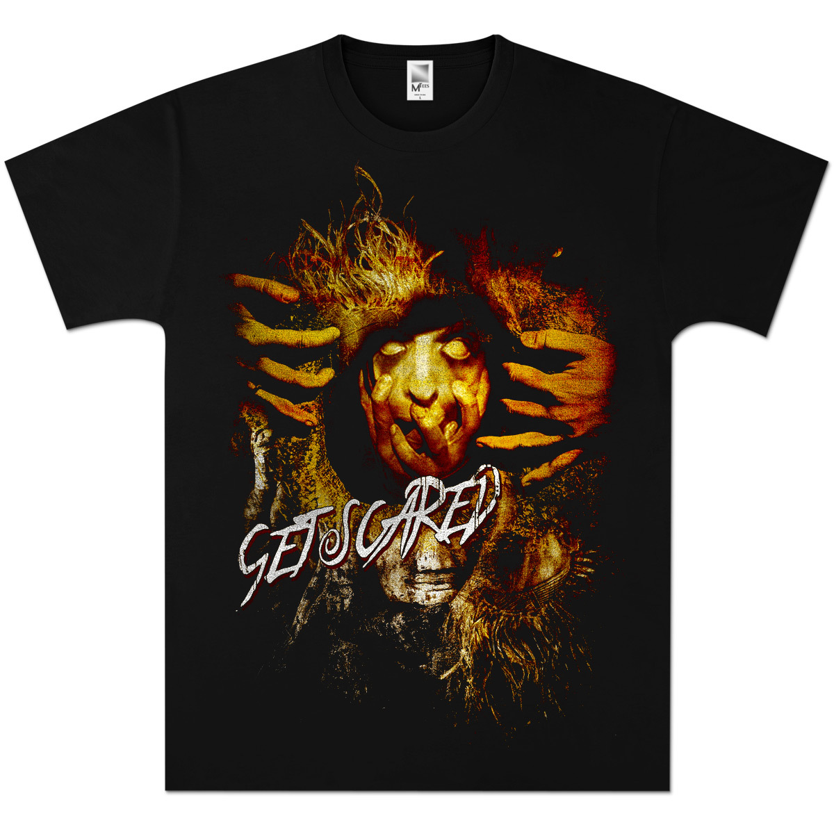 Get Scared Hiding T-Shirt