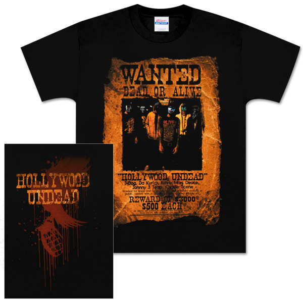billy the kid wanted poster. Hollywood Undead Wanted Poster