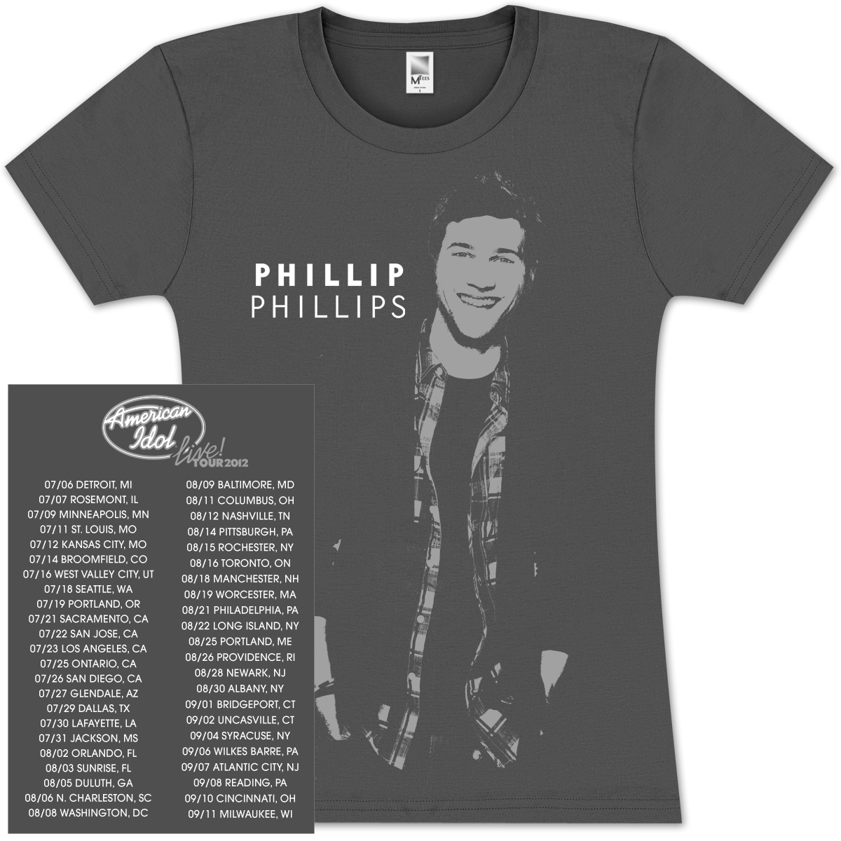 American Idol Live Phillip Phillips Babydoll