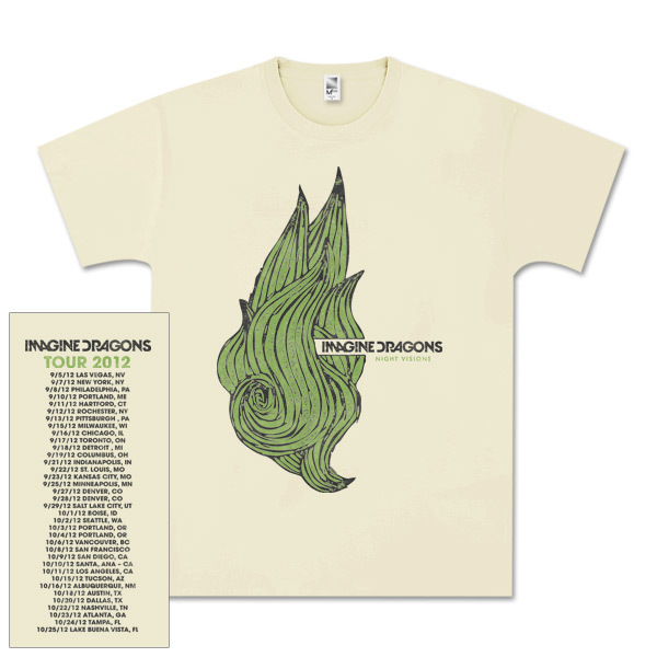 Imagine Dragons Night Greens T-Shirt