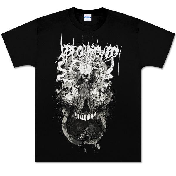 Goat Hair Skull T-Shirt