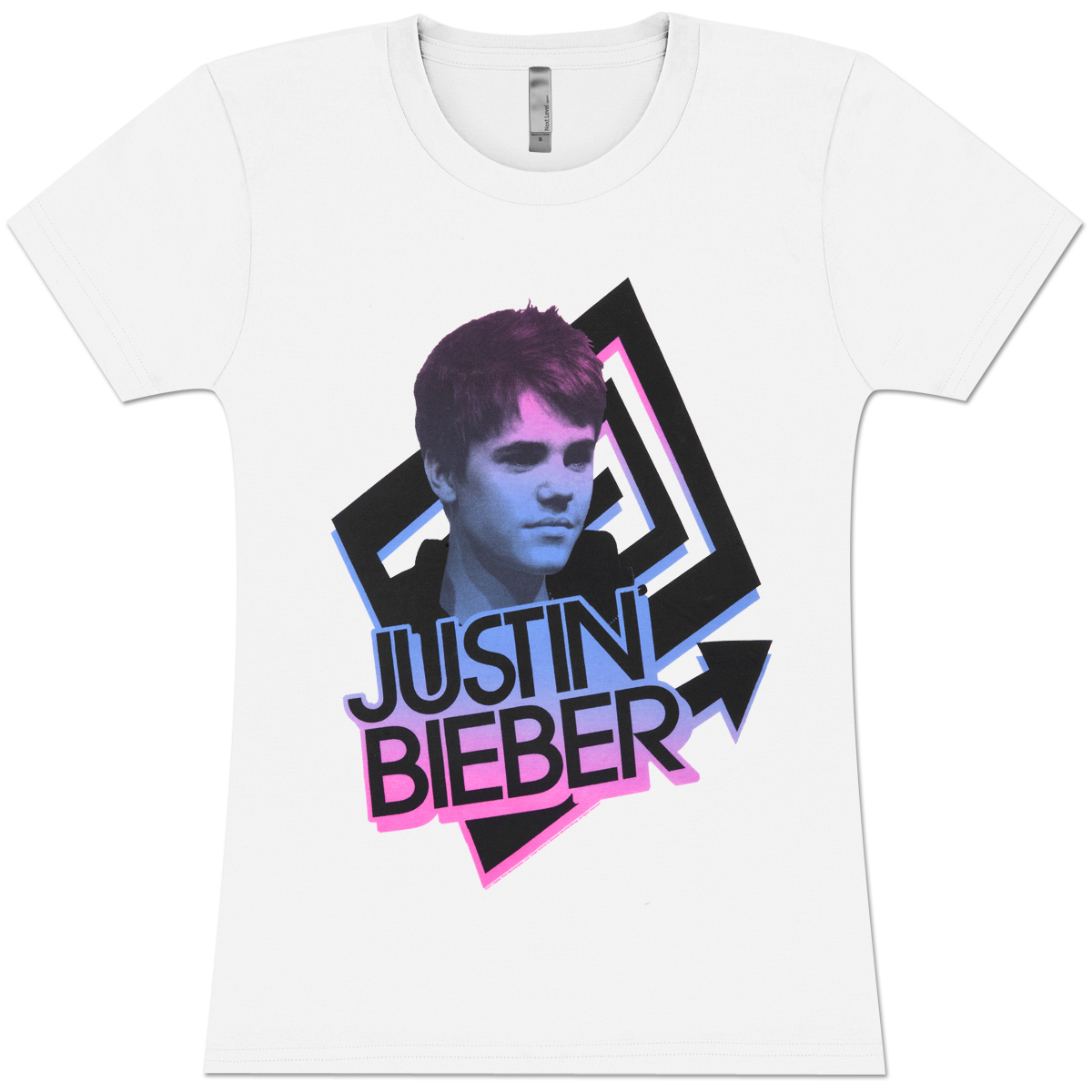 Justin Bieber Arrows Girlie T-Shirt