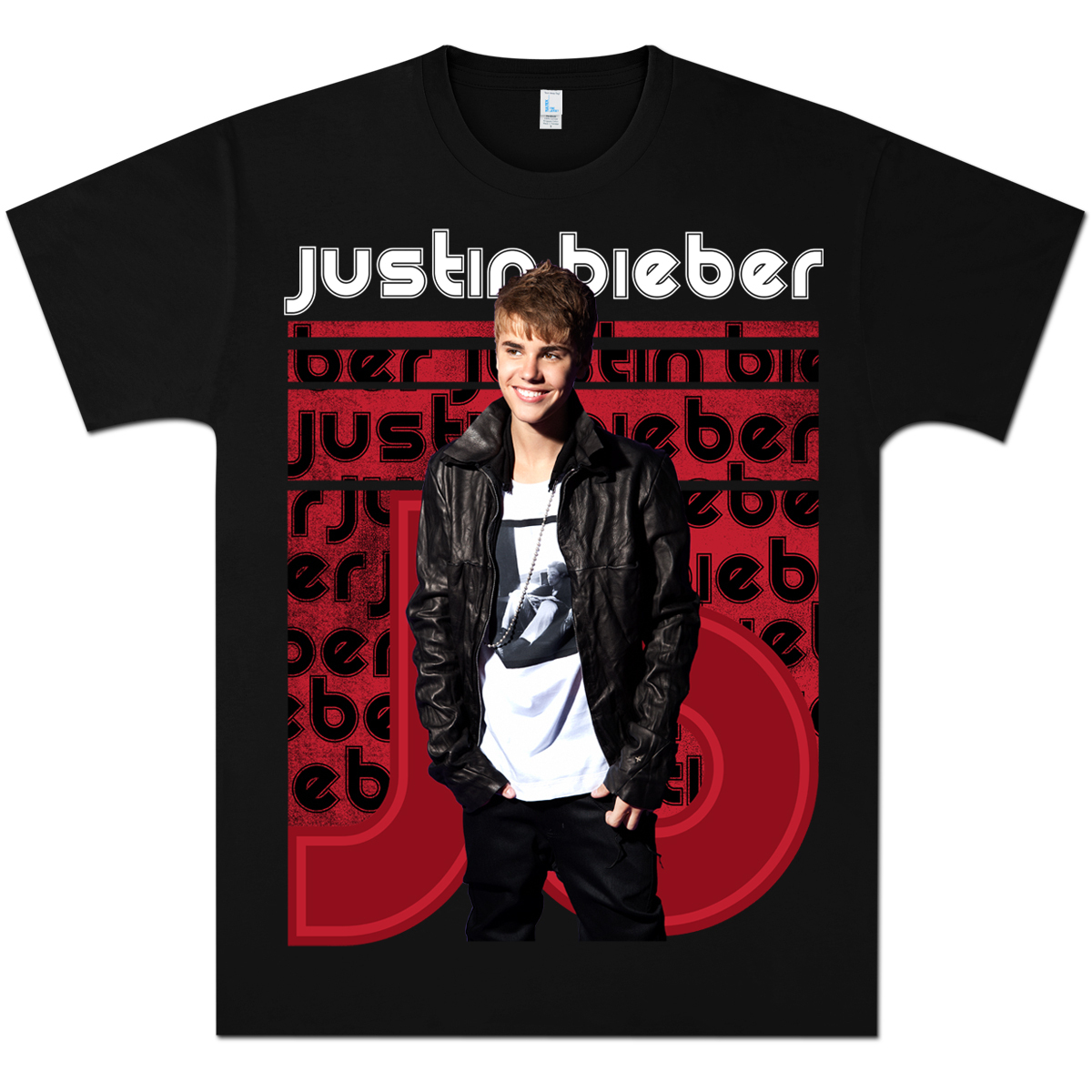 justin bieber jbs t shirt musictoday superstore. Black Bedroom Furniture Sets. Home Design Ideas