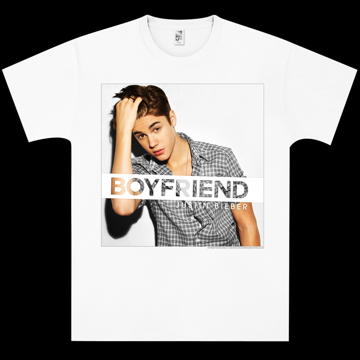 justin bieber boyfriend t shirt musictoday superstore. Black Bedroom Furniture Sets. Home Design Ideas