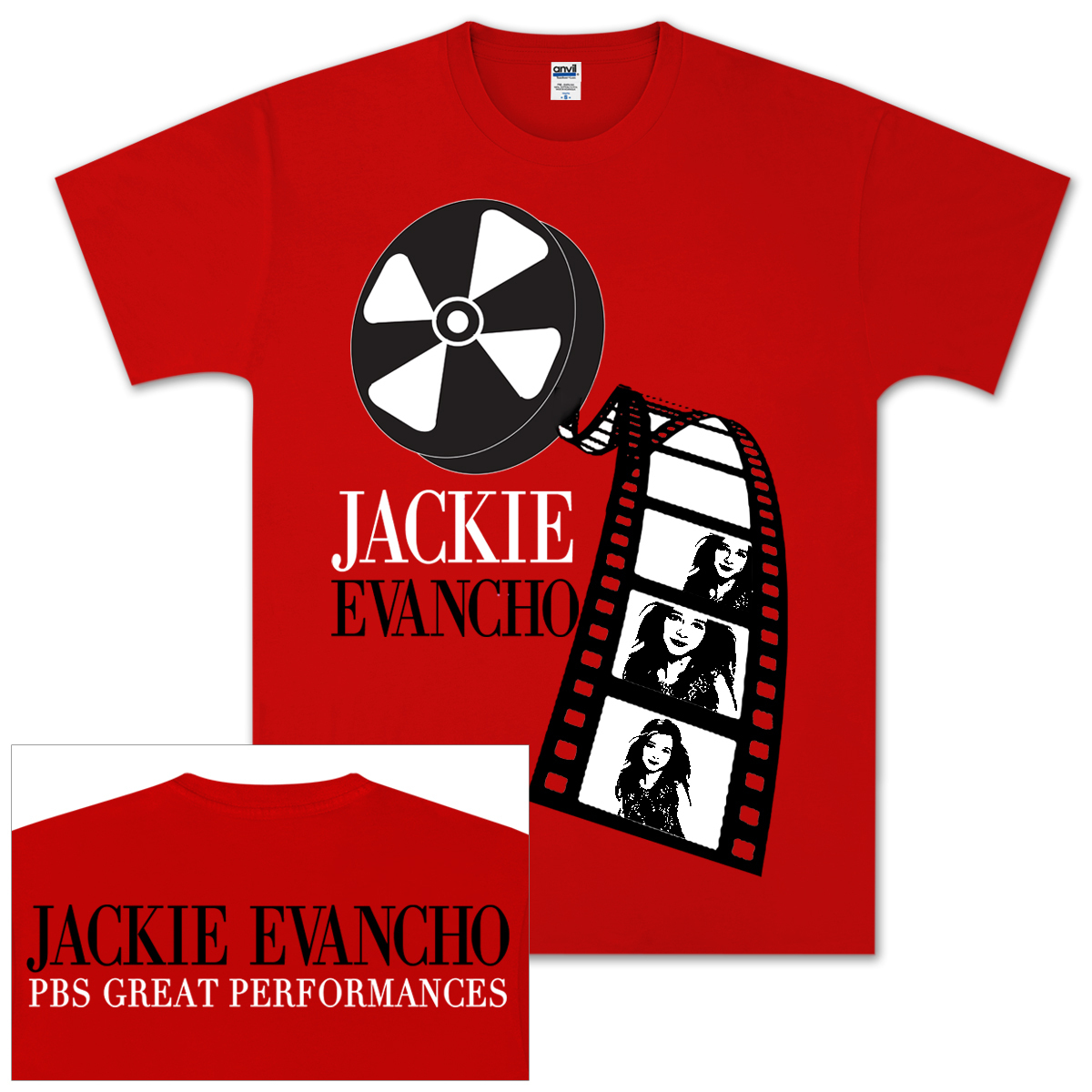 Jackie Evancho Movie Reel T-Shirt