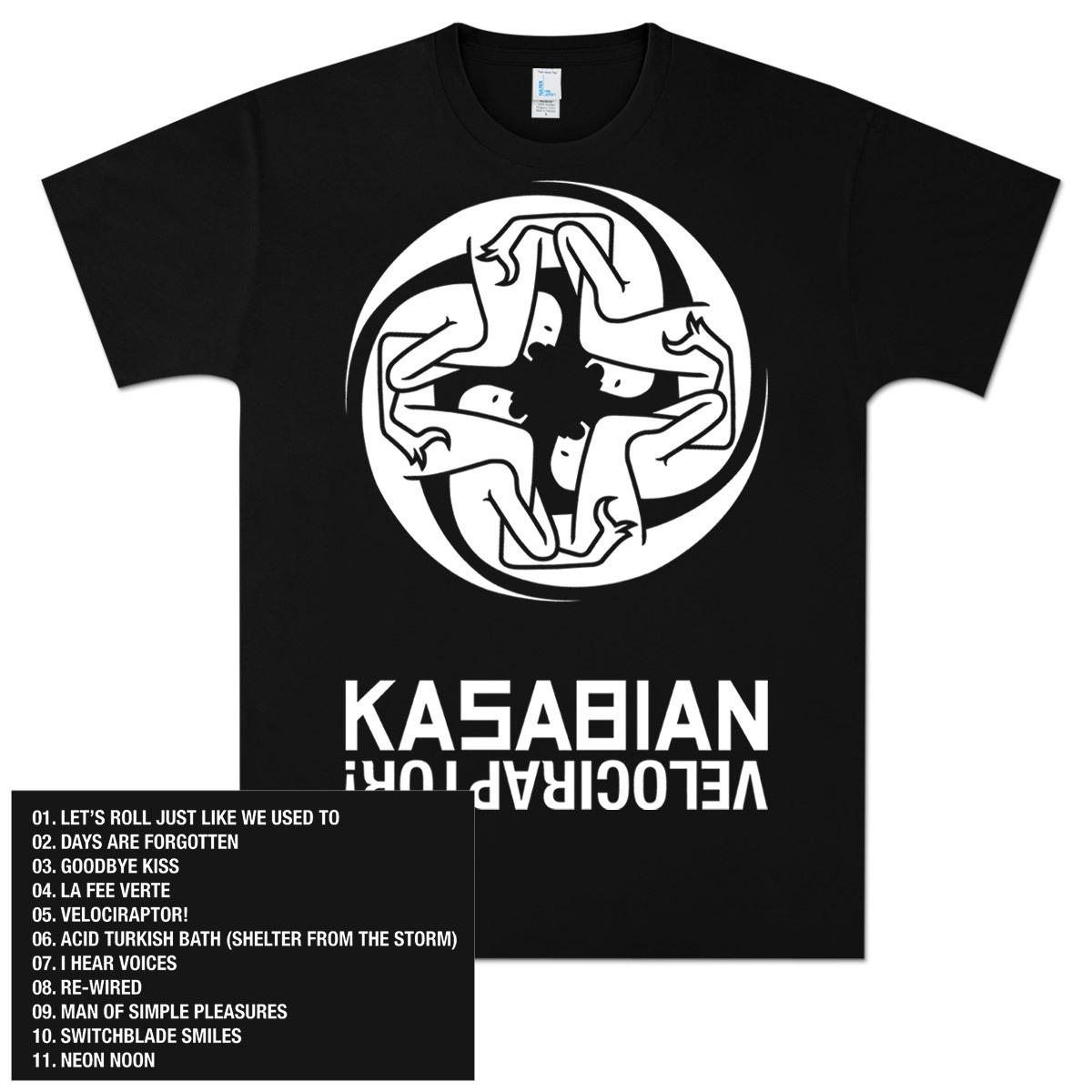 Kasabian Art & Tracks T-Shirt