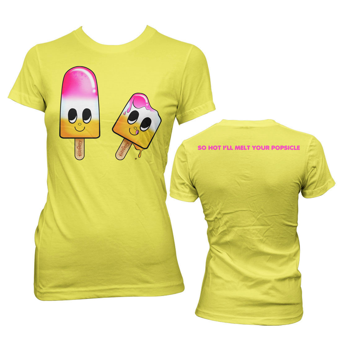 Katy Perry Melted Popsicle Girlie T-Shirt