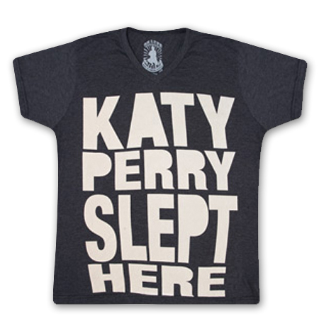 Katy Perry Slept Here V-Neck