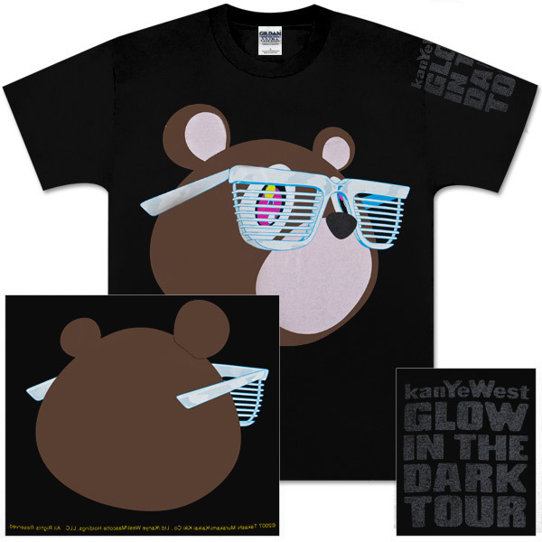 Kanye West Bear in Shades Tee